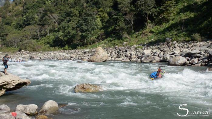 Rafting sul Tamur